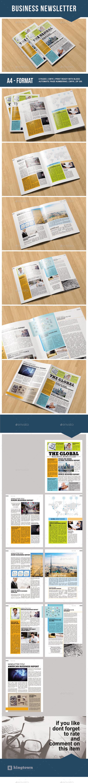 Business Newsletter Vol. 3  - Newsletters Print Templates