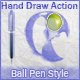 Realistic Hand Draw BallPen Generator Action - GraphicRiver Item for Sale