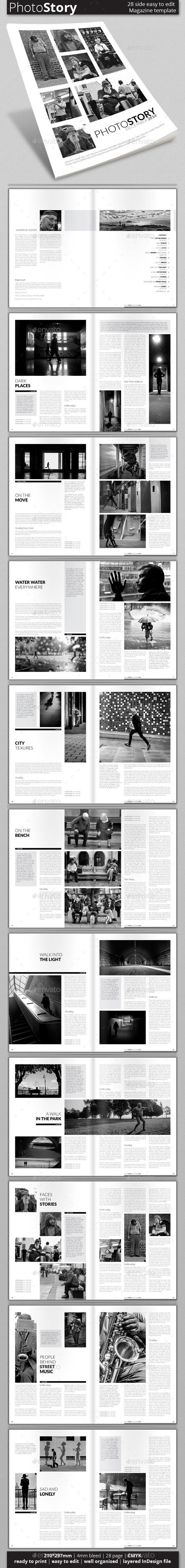 Multipurpose Magazine Template (Vol. 3) - Magazines Print Templates