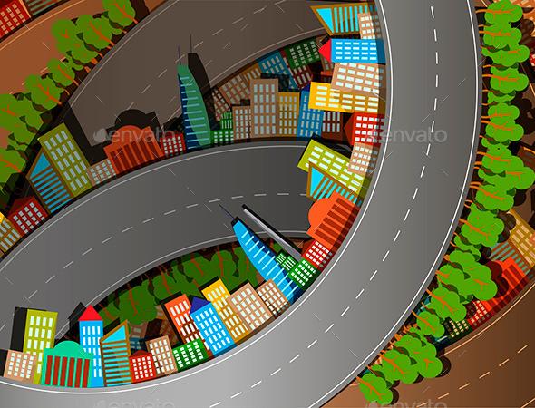 Road - Objects Vectors
