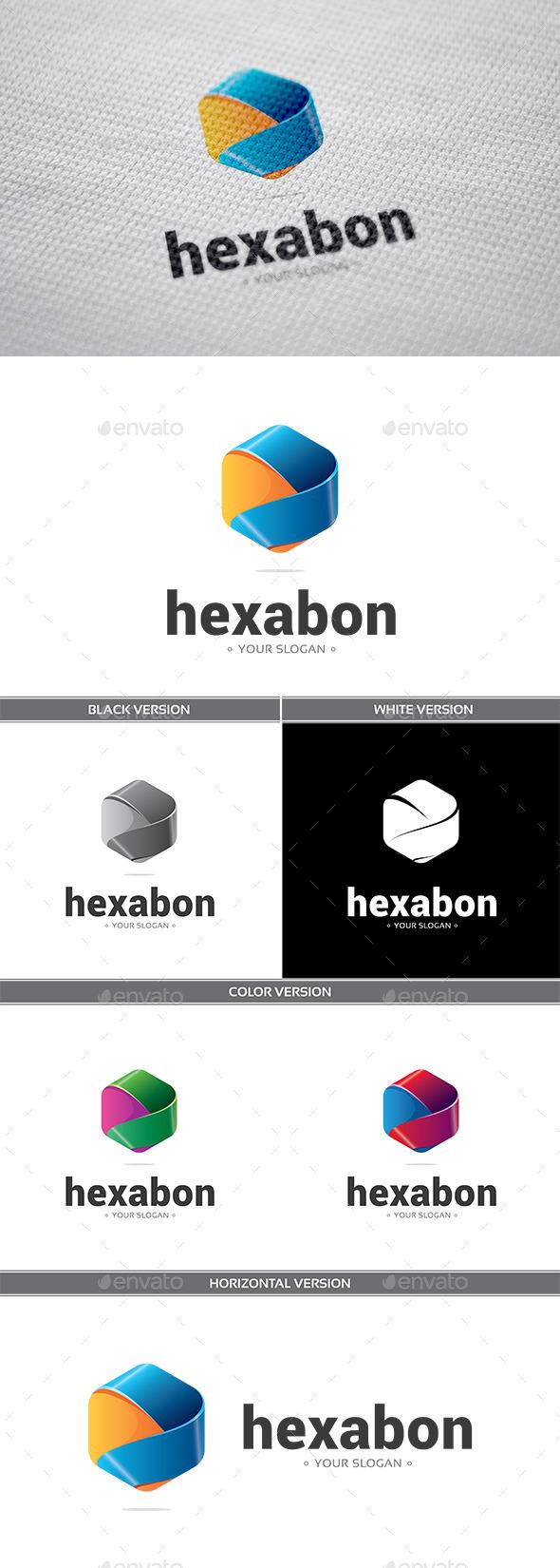 Hexabon Logo - Objects Logo Templates