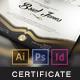 Multipurpose Modern Certificate v.3 (All Formats) - GraphicRiver Item for Sale