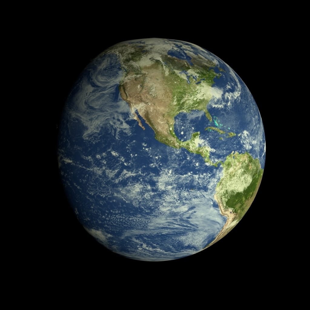 Realistic HD Earth Model