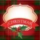 Christmas Frame with Banner - GraphicRiver Item for Sale