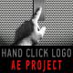 Hand click logo opener - revealer - VideoHive Item for Sale