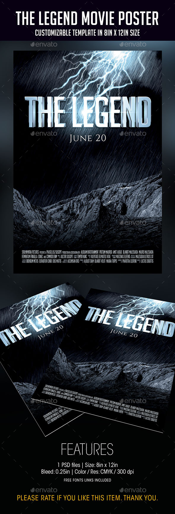 The Legend | Movie Poster