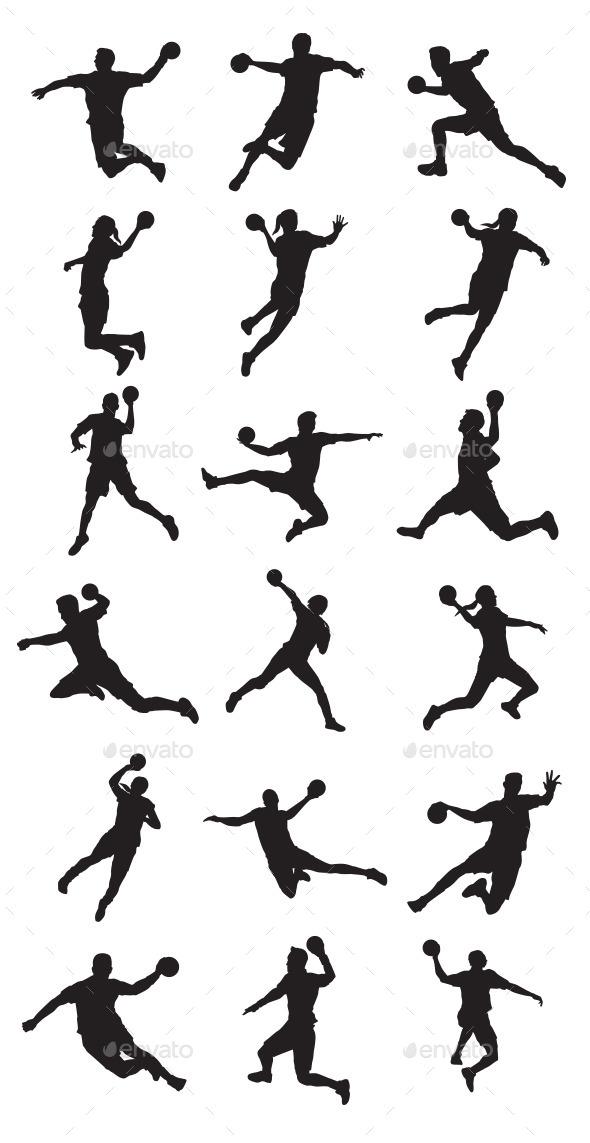 Handball Player - Sports/Activity Conceptual