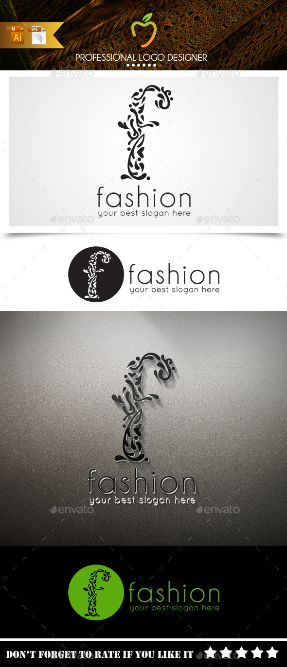 Fashion Logo - Letters Logo Templates