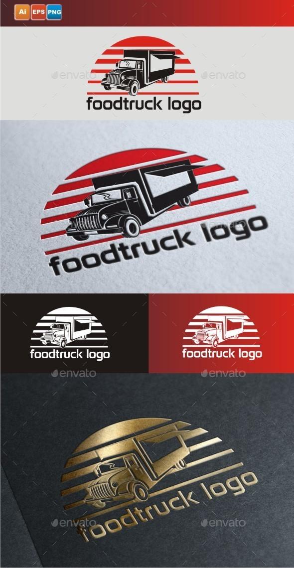 Food Truck Logo - Symbols Logo Templates