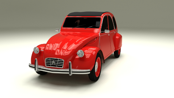 Citroen 2CV - 3DOcean Item for Sale