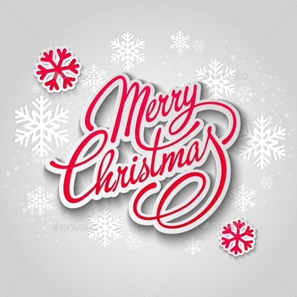 Merry Christmas Greeting Card - Miscellaneous Vectors