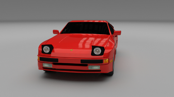 Porsche 944 - 3DOcean Item for Sale