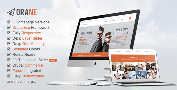 Orane – Multi-Purpose, eCommerce Drupal Theme