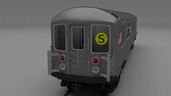 NY train W interior - 3DOcean Item for Sale