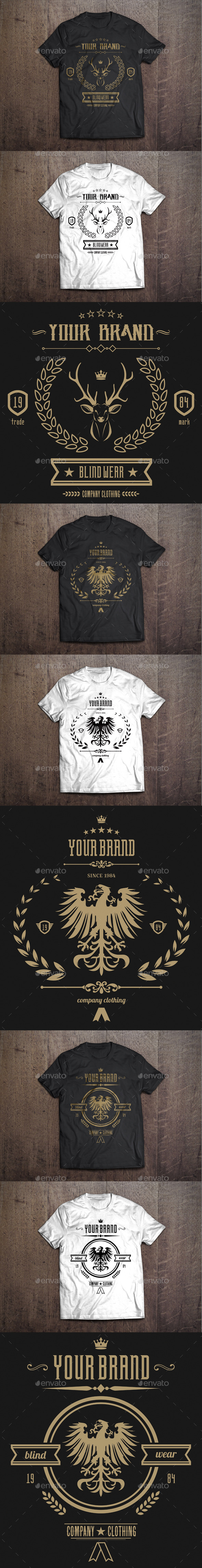 3 T-Shirt Template #1 - T-Shirts