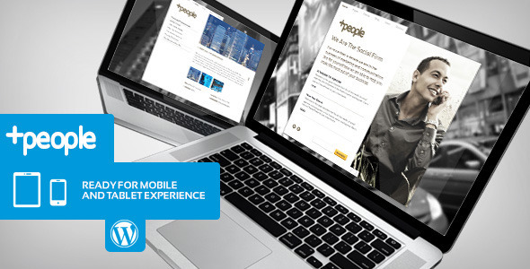 +People Premium Business WordPress Theme - Business Corporate