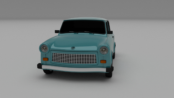 Trabant 601 - 3DOcean Item for Sale