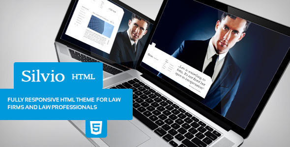 Silvio – HTML Theme for Law Firms
