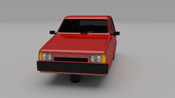 Reliant Robin - 3DOcean Item for Sale