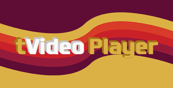 tVideo Player - HTML5 video player (with playlist) - CodeCanyon Item for Sale