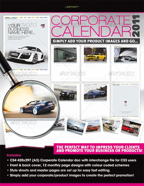 Corporate Calendar 2011 - Calendars Stationery