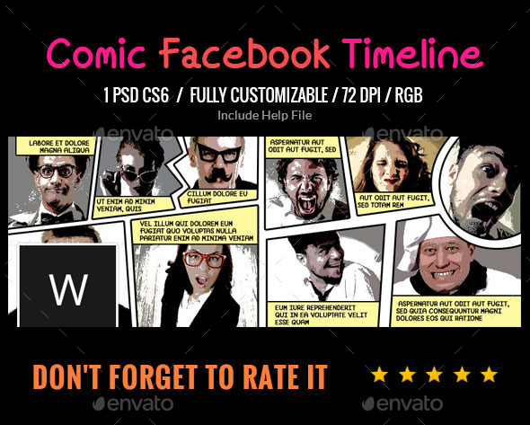 Comic Book Facebook Cover - Facebook Timeline Covers Social Media