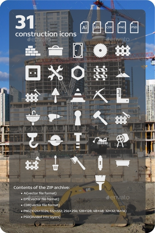 31 Construction Icons (2) - Web Icons