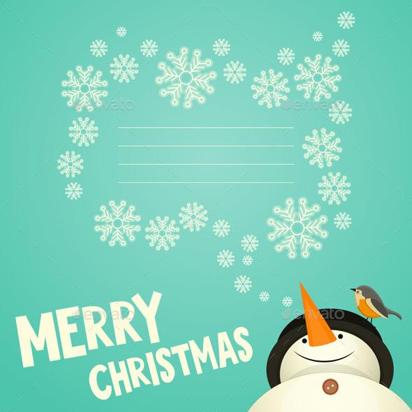 Merry Christmas Greeting Card - Christmas Seasons/Holidays