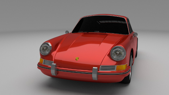 1964 Porsche 911 - 3DOcean Item for Sale