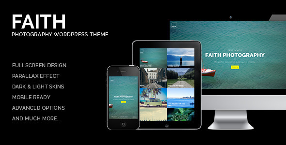 Faith – Photography WordPress Theme