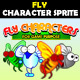 Fly Characters - GraphicRiver Item for Sale