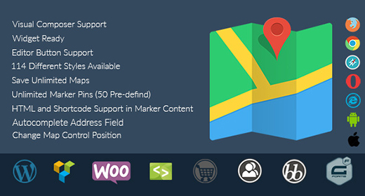 Responsive Google Maps - WordPress Plugin