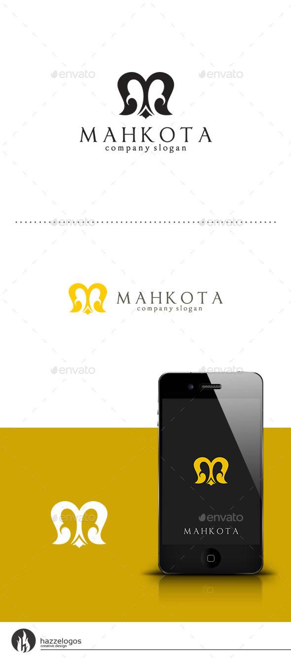 Mahkota - Letter M Logo - Letters Logo Templates