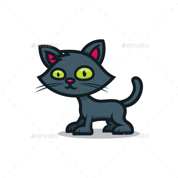 Black Cat - Animals Characters