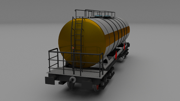 Train tanker car - 3DOcean Item for Sale