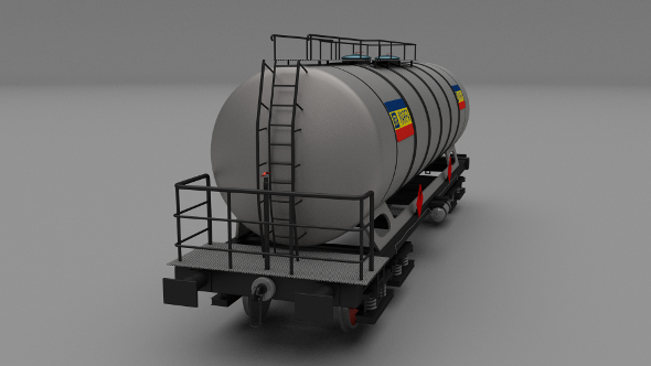 CFR train tanker car - 3DOcean Item for Sale