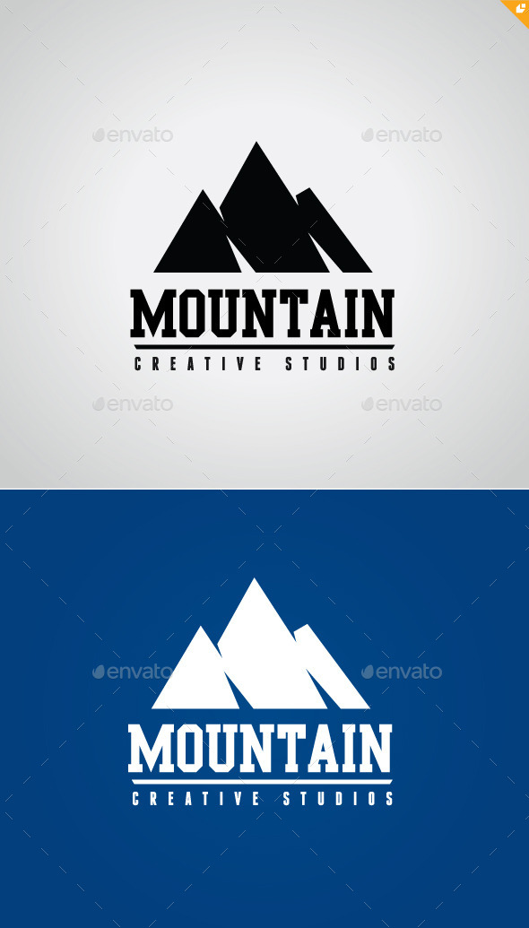 Mountain Logo V1 - Nature Logo Templates