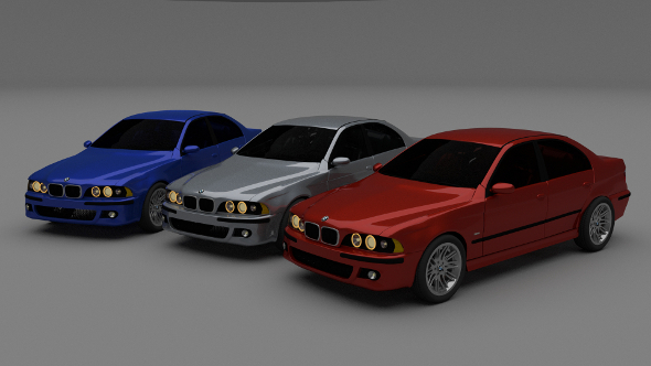 5 Series BMW E39 - 3DOcean Item for Sale
