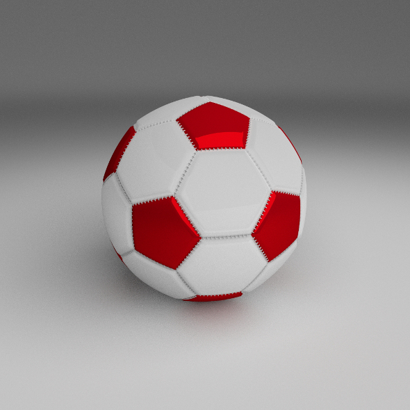 Classic High Quality Football - 3DOcean Item for Sale