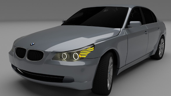BMW E60 5 series - 3DOcean Item for Sale