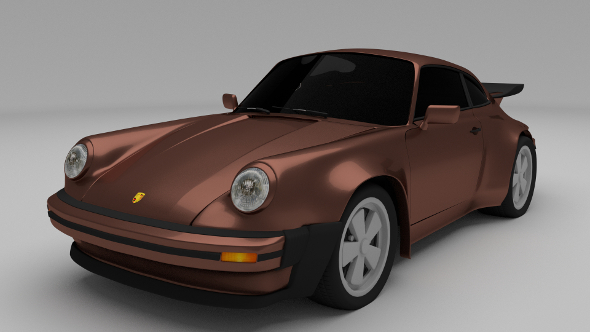 1975 Porsche 911 930 - 3DOcean Item for Sale