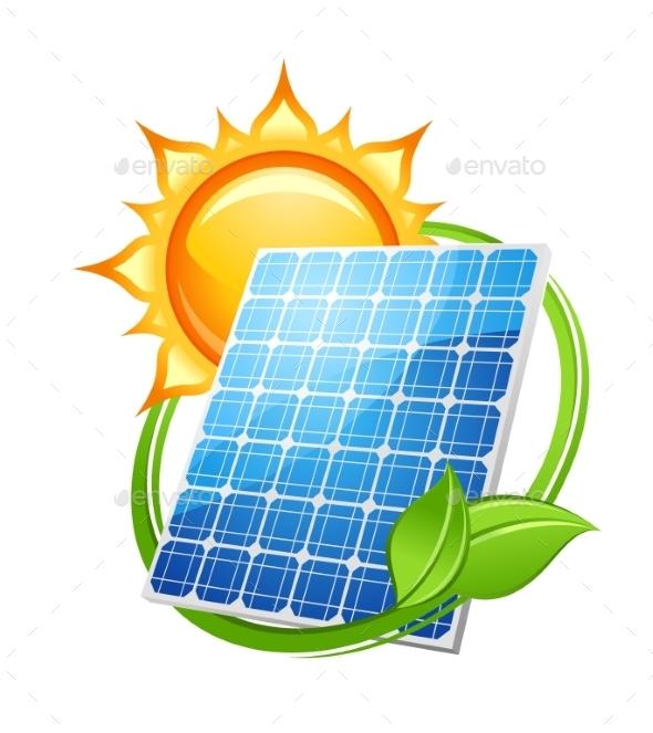 Solar Energy and Power Concept - Technology Conceptual