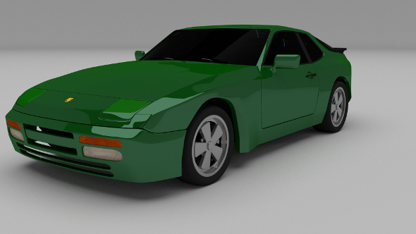 Porsche 944 924 - 3DOcean Item for Sale