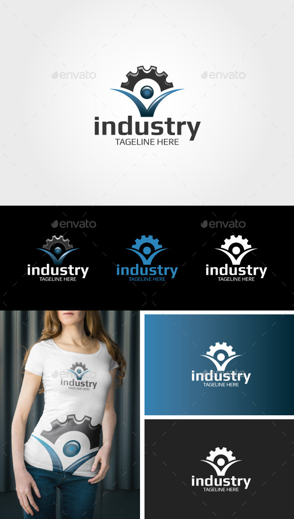 Industry Logo - Objects Logo Templates