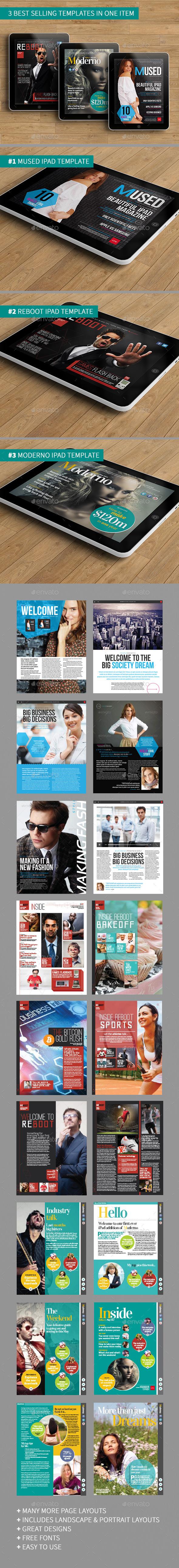 iPad Magazine Bundle - Digital Magazines ePublishing