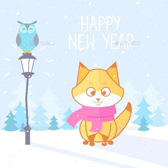 Fox Winter - Christmas Seasons/Holidays
