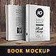 ID Book Mock-Up Photorealistic - GraphicRiver Item for Sale