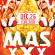 Flyer Mas XXX - GraphicRiver Item for Sale