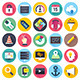 Web Development Flat Icons - GraphicRiver Item for Sale