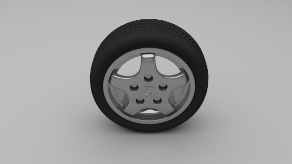 Porsche Wheel 4 - 3DOcean Item for Sale
